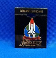 Spaceport USA Shuttle Collectable Pin Badge